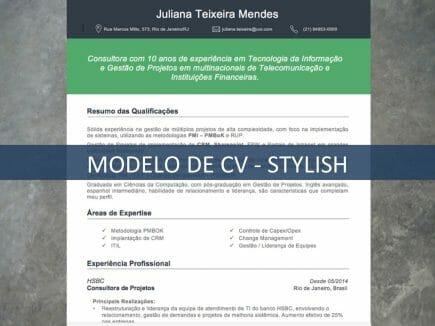 Modelo de CV - Stylish