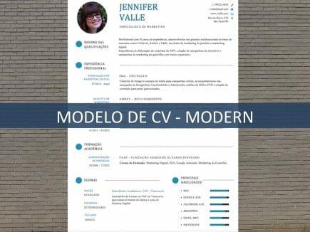 Modelo de CV - Modern